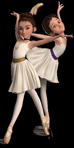 Ballerina in esclusiva una motivante scena italiana del film di