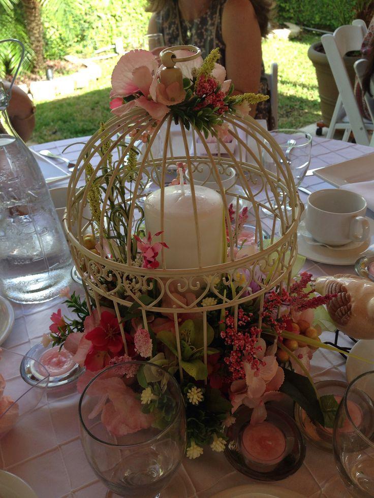 Mini birdcage centerpieces - photo#37