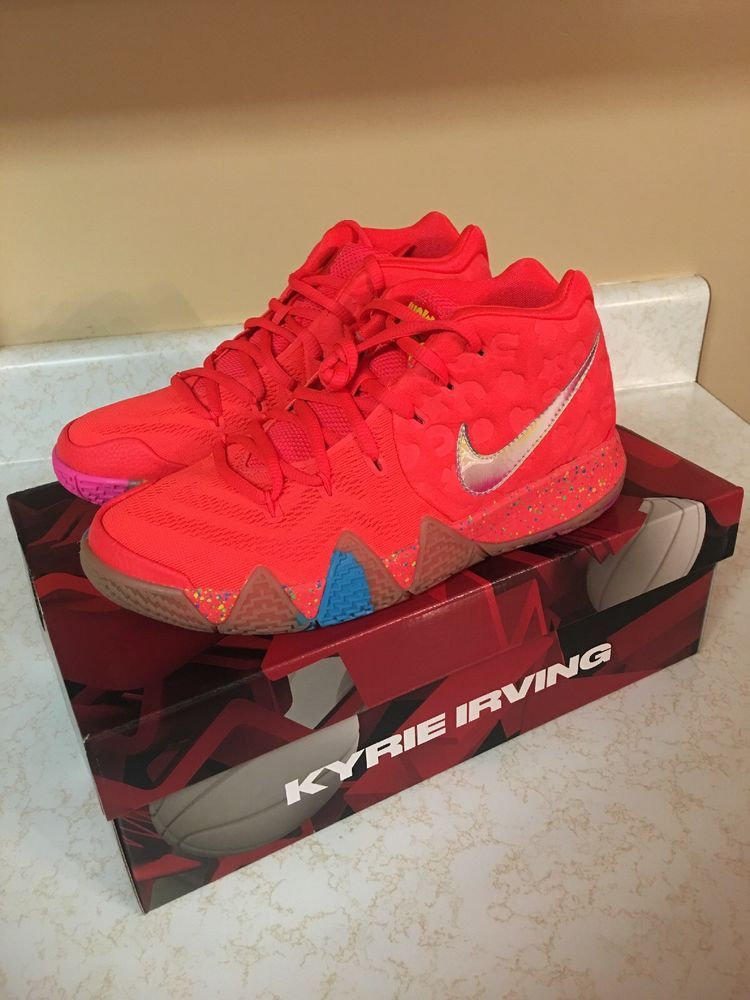 Nike Kyrie 4 Lucky Charms GS SZ 5.5Y