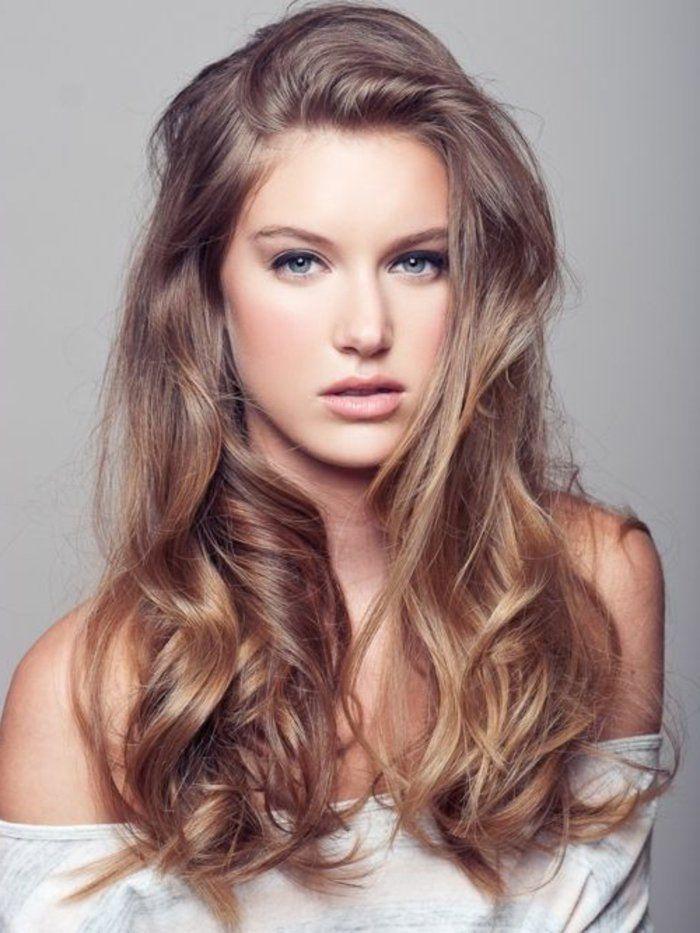 La Couleur Blond Foncé Parfait Pour Cette été Et Automne Styles De