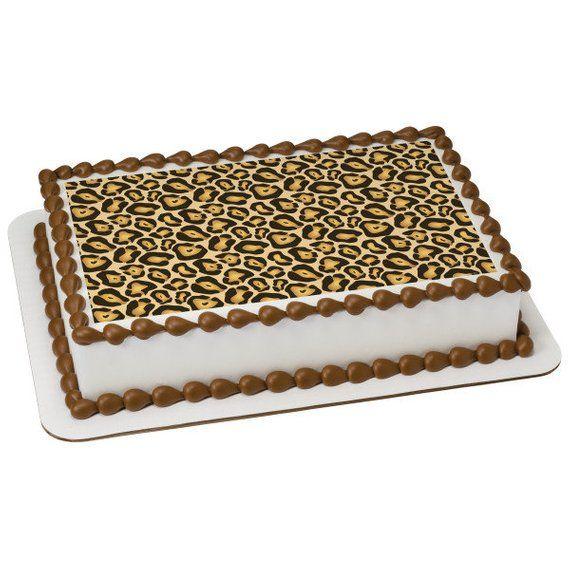 Jaguar Sheet Edible Cake Topper Brooklyns Birthday Cake Ideas