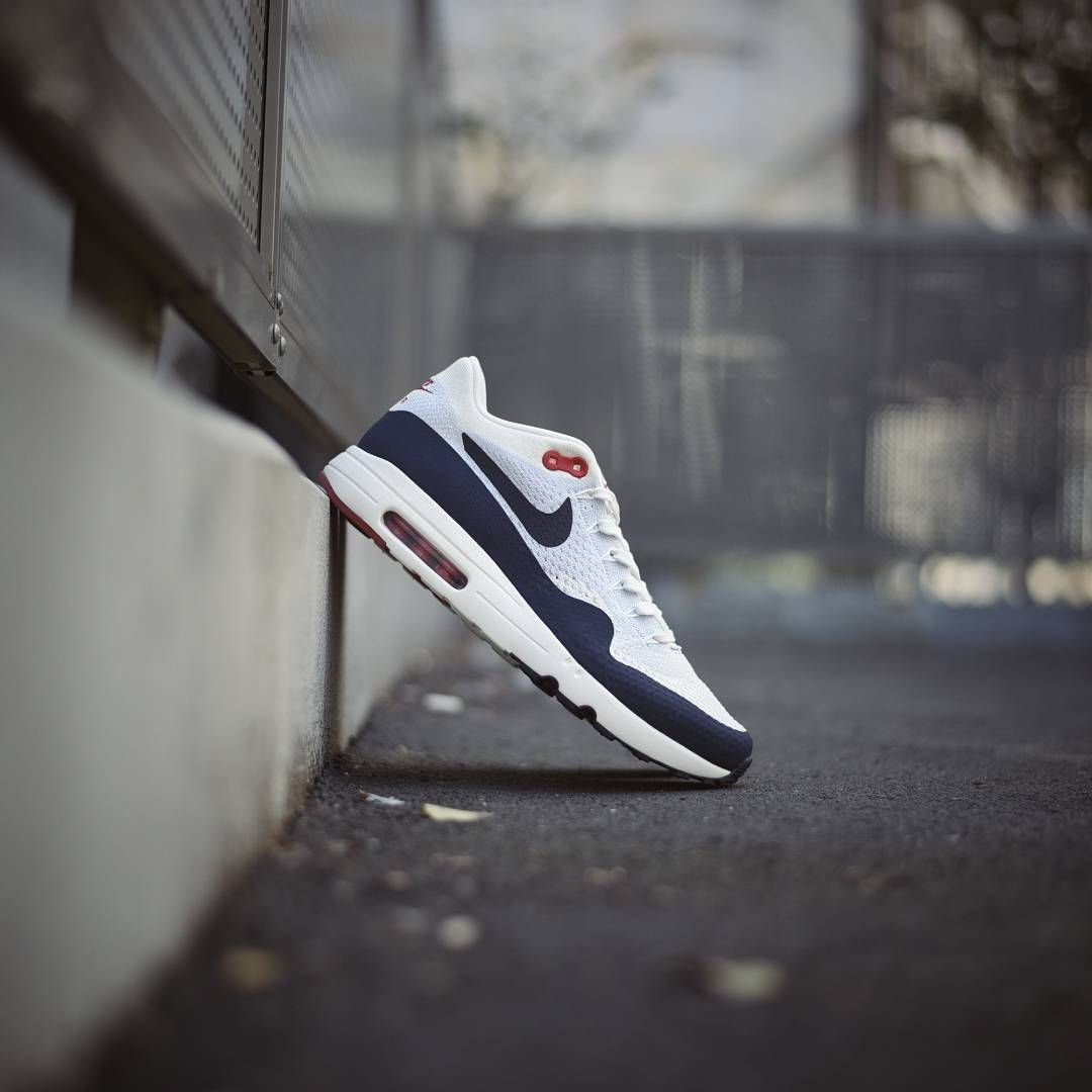 NEW IN NIKE AIR MAX 1 ULTRA 2.0 FLYKNIT SAILOBSIDIAN PURE