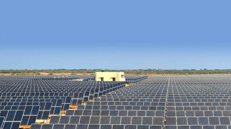 Madhya Pradesh Cm Lays Foundation For World S Largest Solar Power Plant According To An Official The Solar Pla Solar Solar Power Plant Solar Energy Diy