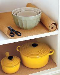 Cork Drawer Liner Diy House Kitchen Cabinet Liners Cabinet