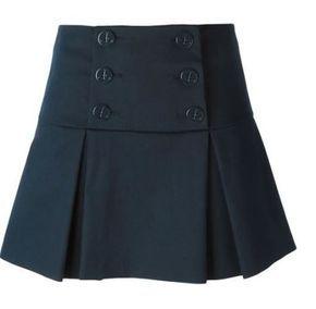 6012ee510 Patrón falda con solapa y pliegues | FALDA ESCOLAR | Patron falda ...