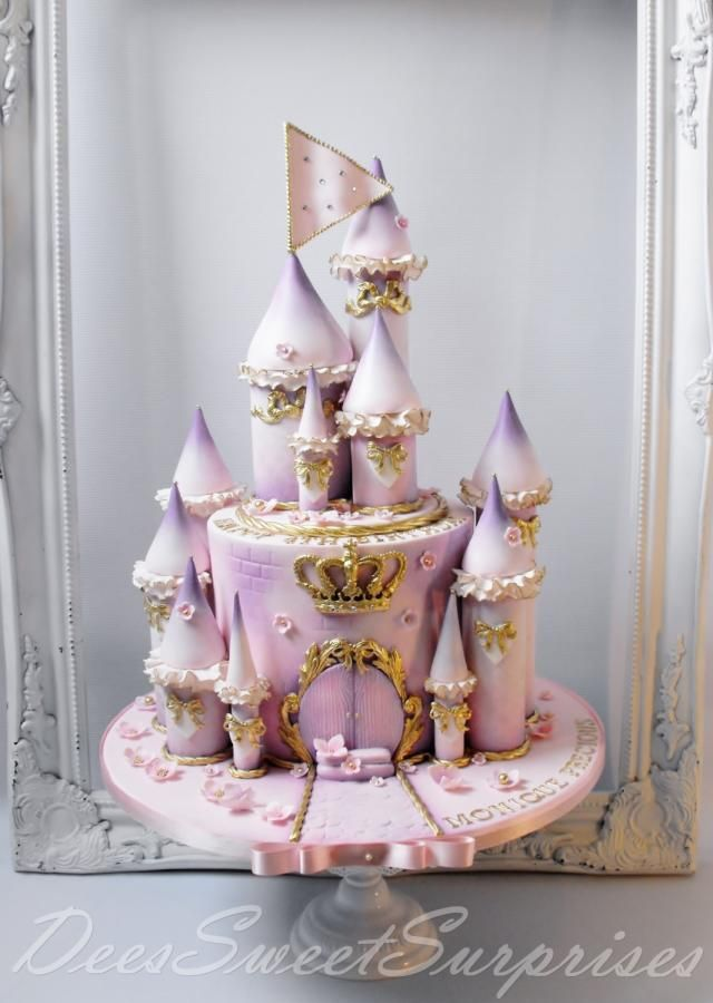 Fairytale Princess Castle Cake Cake By Dee With Images