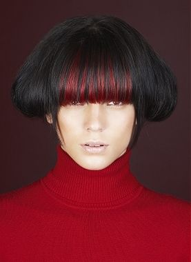 Colored Bangs Hairstyles Red Highlights In Brown Hair Red Brown Hair Brown Hair With Highlights