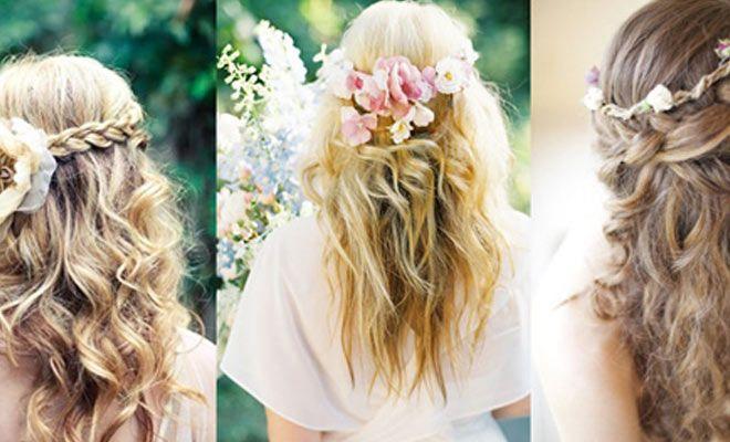 Peinado novia ibicenca