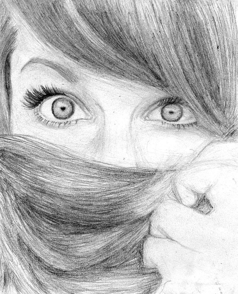 Hidden By Mstemmii Drawings How To Draw Hair Art