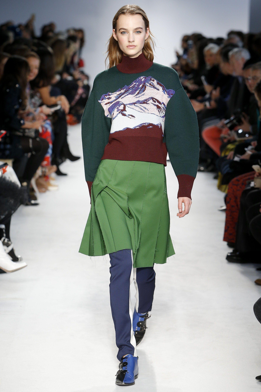 Emilio Pucci Fall 2016 Ready-to-Wear Fashion Show - Maartje Verhoef