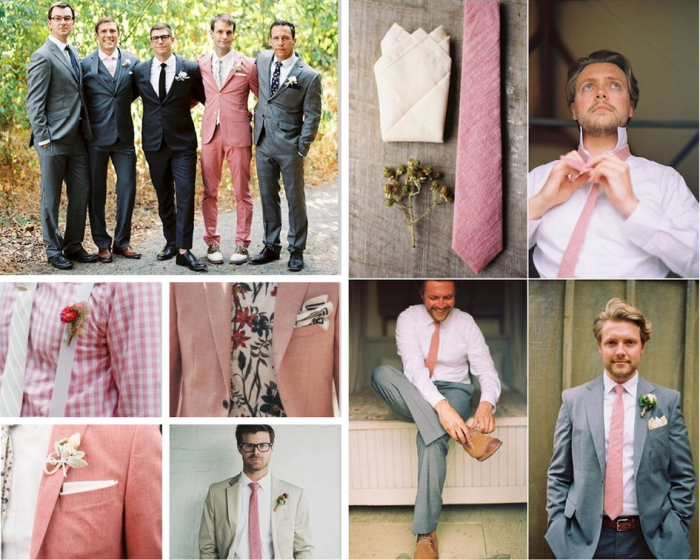 Blush Groom style-The Boutique Wedding Co. | Wedding::Men\'s ...