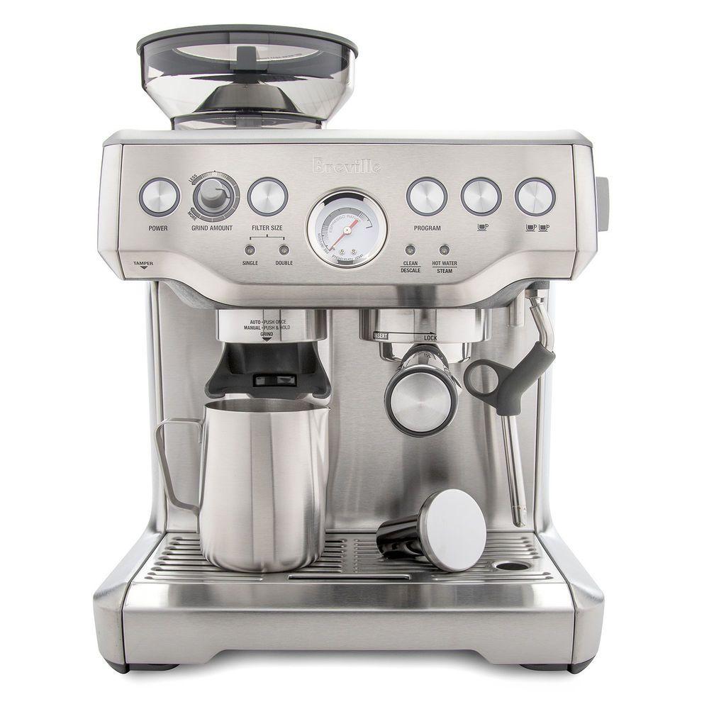 Breville Bes870xl Barista Express Espresso Machine Espresso Machine Home Espresso Machine Espresso