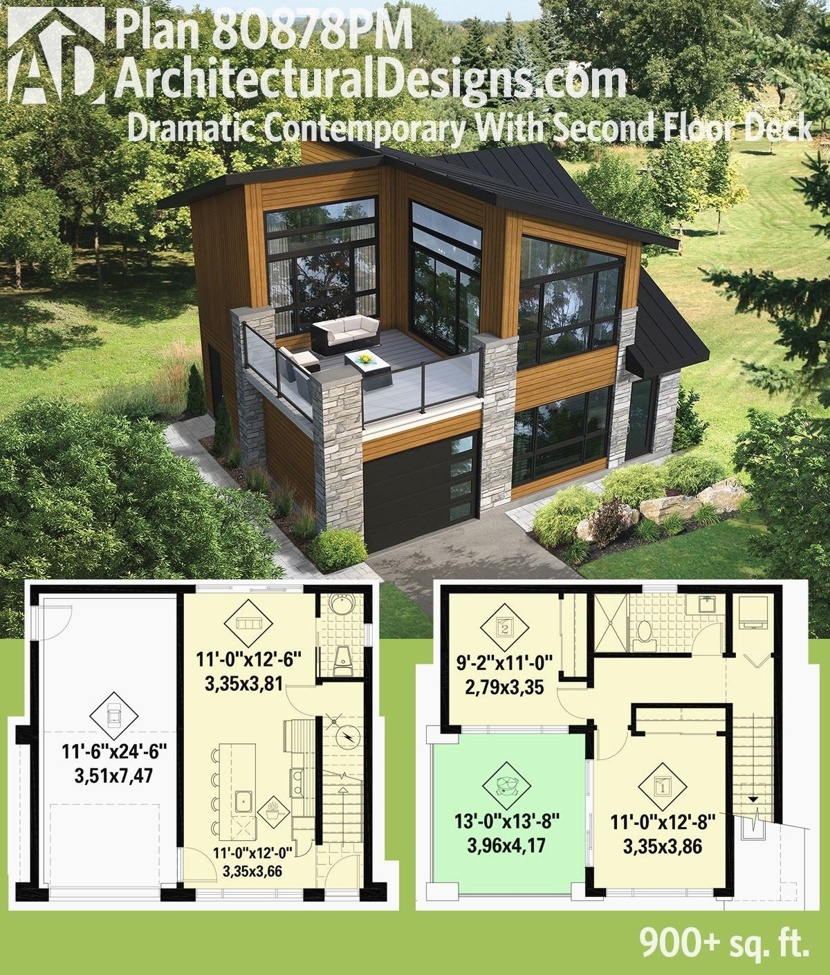 Modern House With Shed Roof Beautiful Plan Pm Dramatic Contemporary With Second Floor Deck Small Modern House Plans Sims House Plans Small House Design