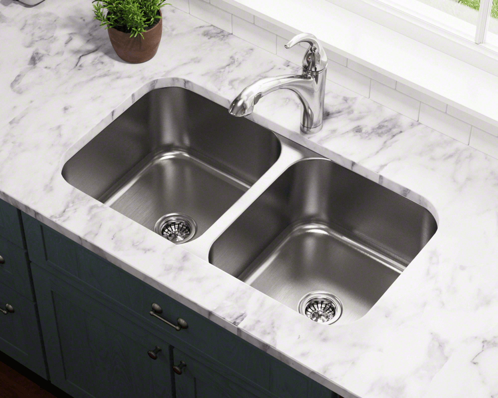 502a Double Bowl Stainless Steel Kitchen Sink Replacing Kitchen Countertops Sinks Kitchen Stainless Large Kitchen Sinks