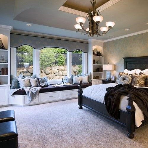 Best Window Seat Traditional Bedroom By Pahlisch Homes Inc 640 x 480