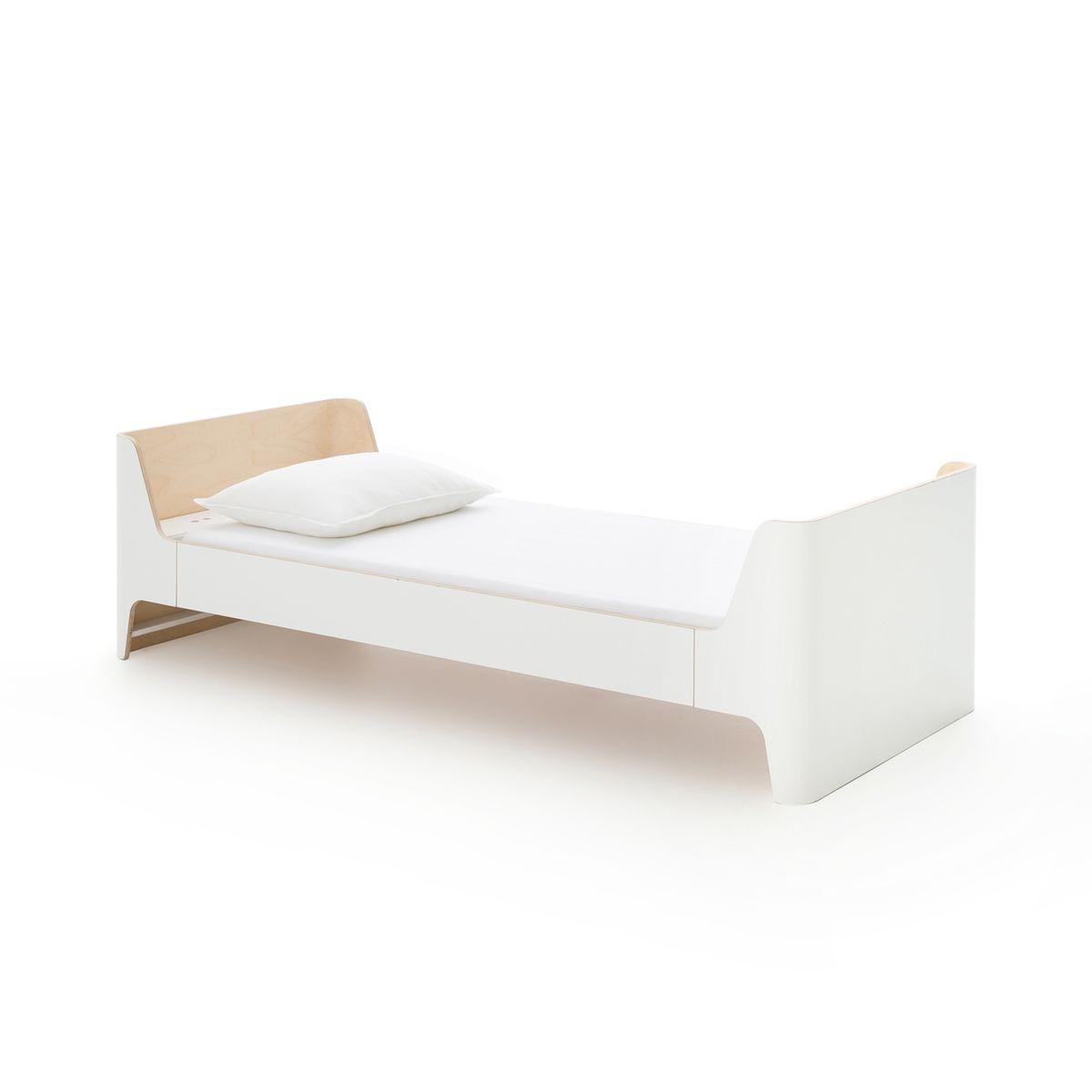 Lit 1 Personne Scandi Design E Gallina Taille 90x190 Cm Lit Facile Lit Blanc Et Lit Junior