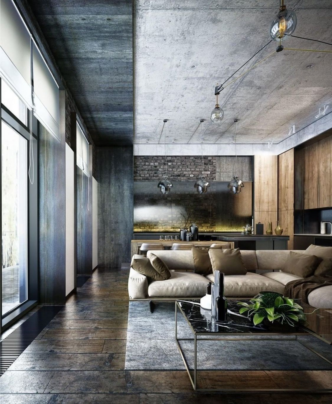 Industrial design interiors industrial style loft interior design interior design magazine room