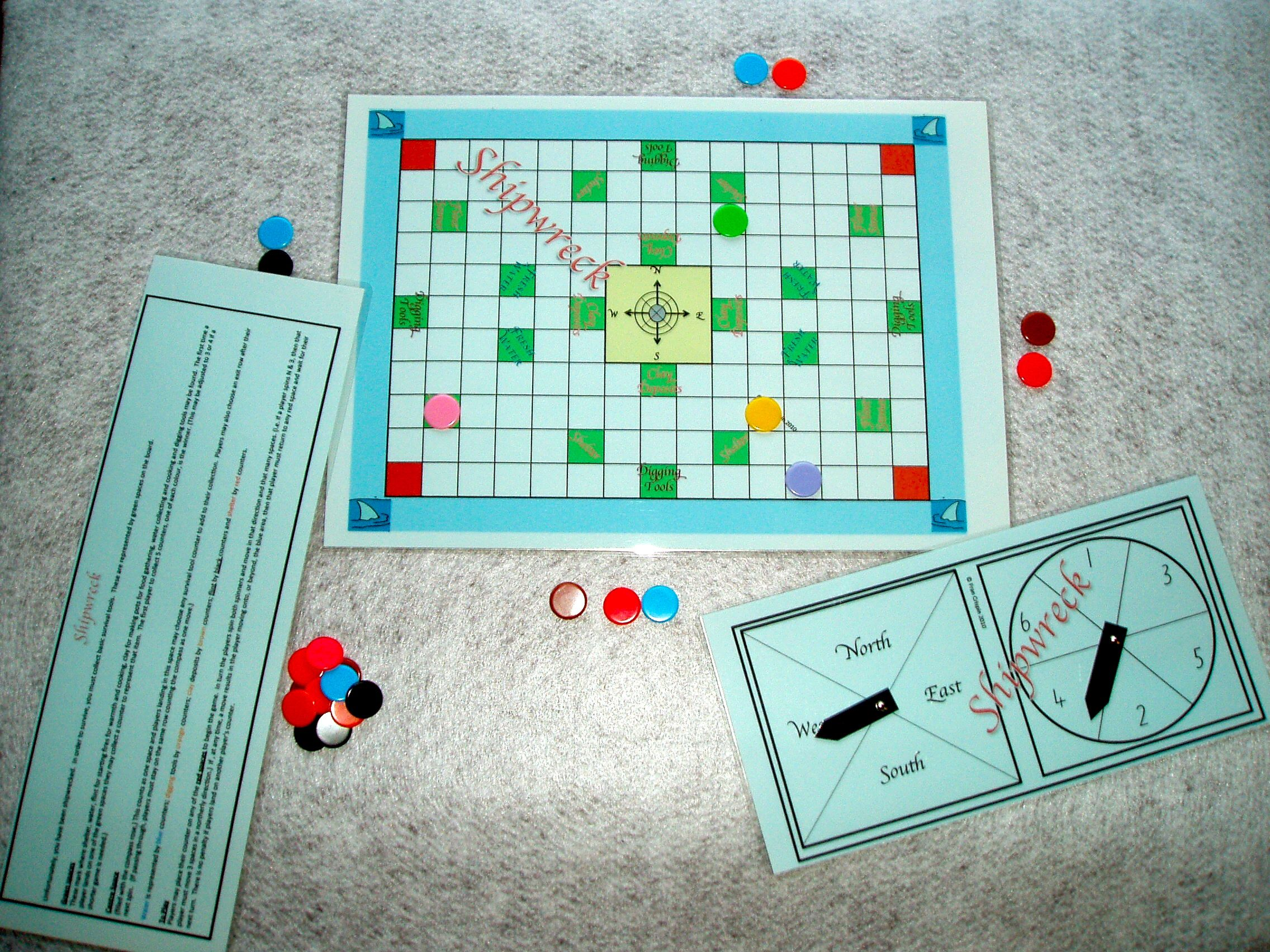 Shipwreck This Is A Game For Students Who Are Learning To