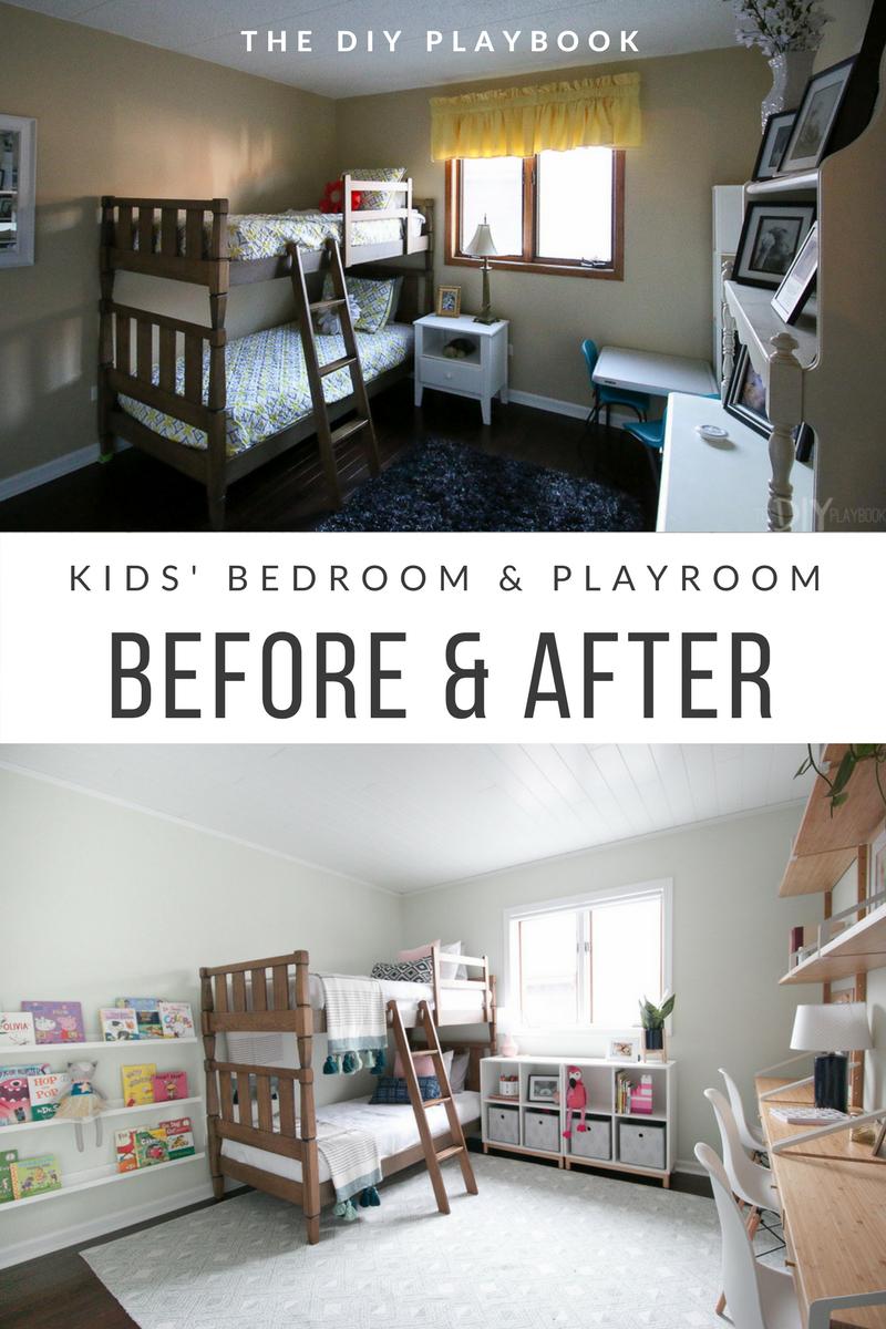 kids room makeover the perfect bedroom playroom kidsroom