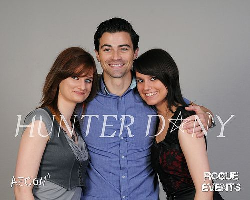 Asylum Europe 4 (2013) Matt Cohen (Young John Winchester/Archangel Michael) with my sis credit: Hunter Dany