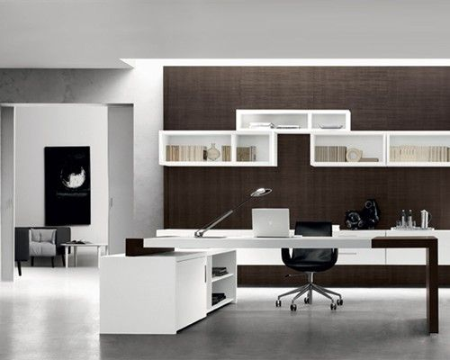 White Wall Mount Shelves Office Furniture Ufficio Design Italia