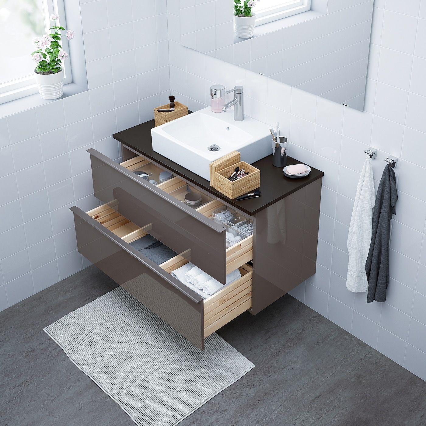 Godmorgon Tolken Tornviken Vanity Countertop And 17 3 4 Sink