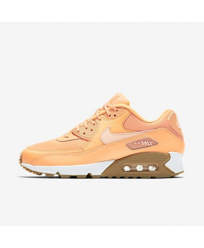 83a241d863 Nike Air Max 90 Sunset Glow Gum Light Brown Sunset Tint Shoe | nike ...