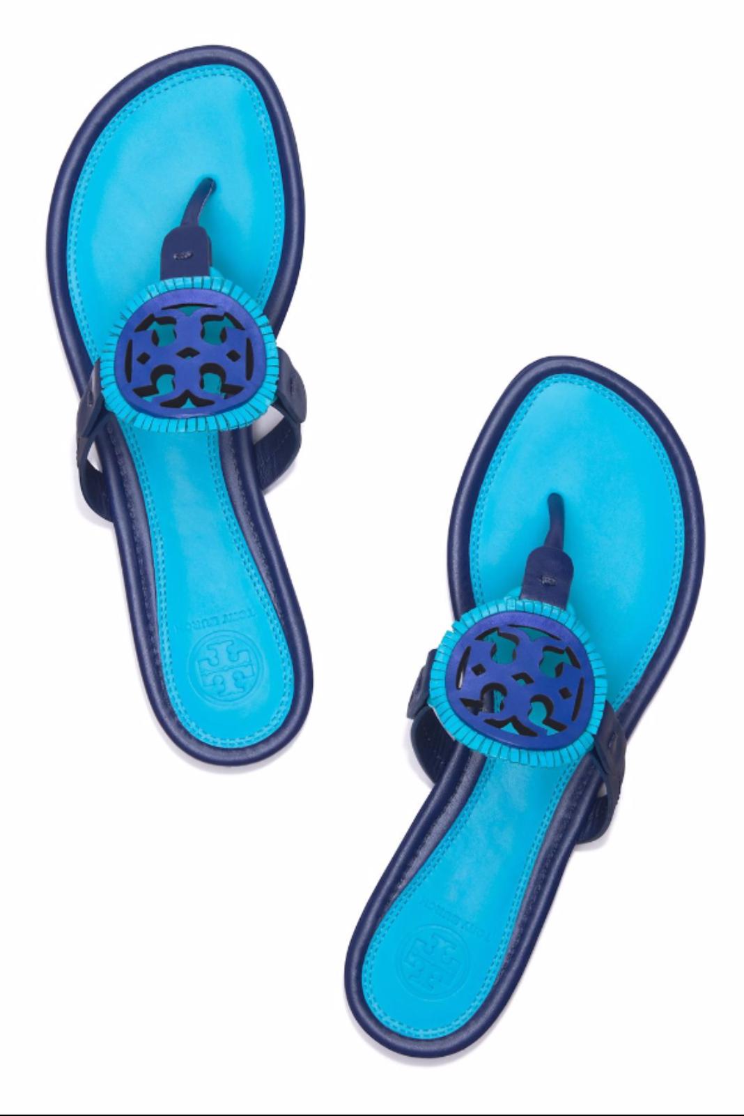 a3d049fb1040e Tory Burch Miller Fringe Sandal