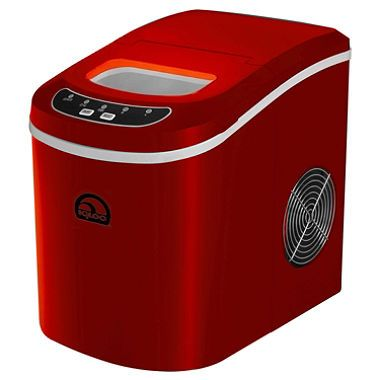 Igloo Compact Ice Maker Red A Splash Of Red In The Brown And