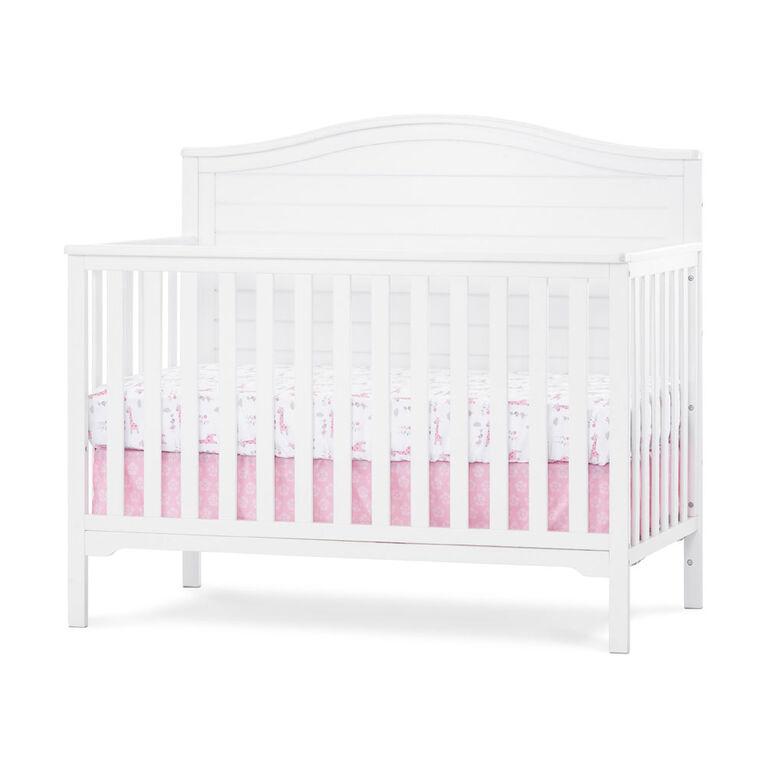 Wilmington Arch Top 4 In 1 Convertible Crib Matte White R