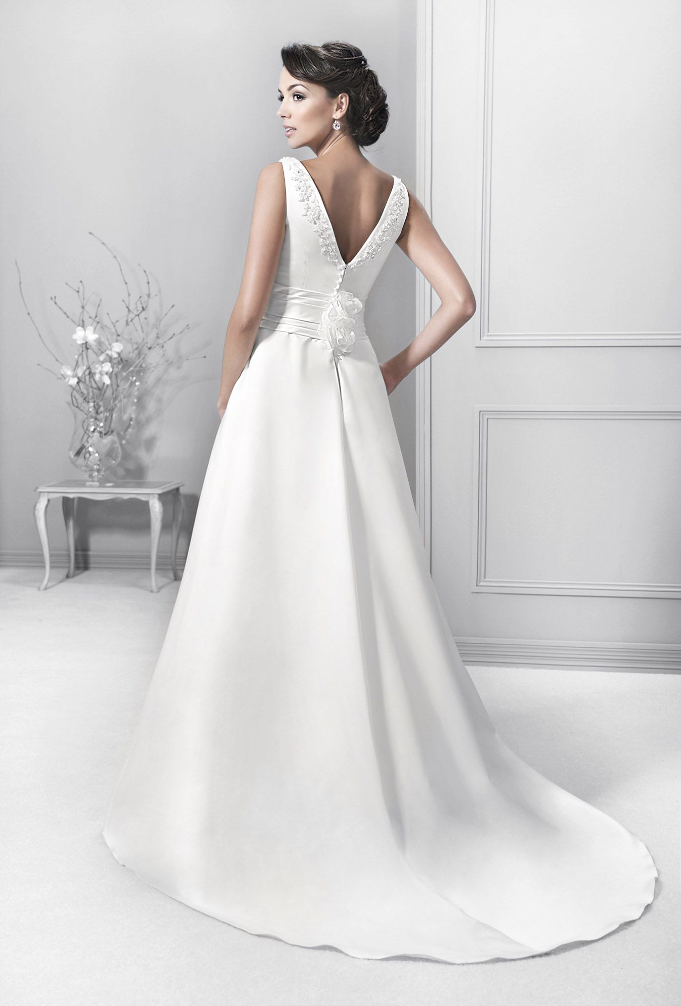6dcbc14b43 Crystal Collection - Agnes - koronkowe suknie ślubne