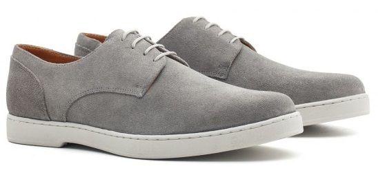 c4a0d12d7 sapato casual camurça louie derby naas grey Clássico