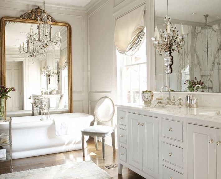 Amy morris interiors southern elegance bathrooms for Southern bathroom ideas