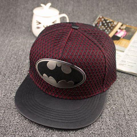 Batman Snapback Cap (adult) Boné Aba Reta 6f1e4509306