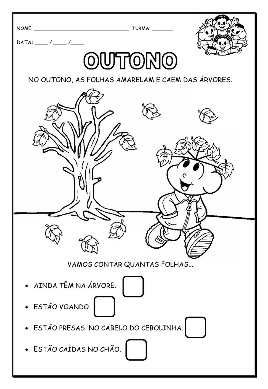 16 Atividades Sobre O Outono Para Imprimir Educacao Infantil