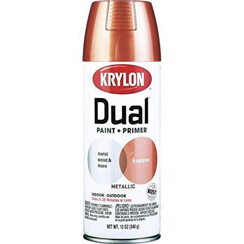 Krylon Dual Paint & Primer Aerosol 12 Oz. Copper Metallic... https://www.amazon.com/dp/B00QU906RW/ref=cm_sw_r_pi_dp_x_-NNjybXGEJHNJ