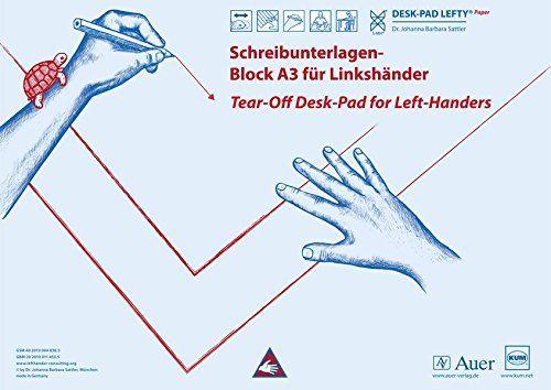 Schreibunterlagen-Block DESK-PAD LEFTY®, DIN A3, für Linkshänder: Alle Klassenstufen (Linkshändigkeit) von Johanna Barbara Sattler http://www.amazon.de/dp/340306767X/ref=cm_sw_r_pi_dp_6ef9wb1T29MJB