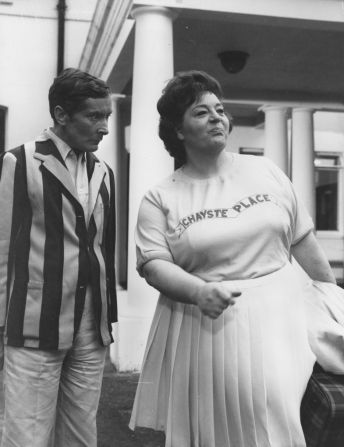 Kenneth Williams /& Hattie Jacques Carry On Greeting Card