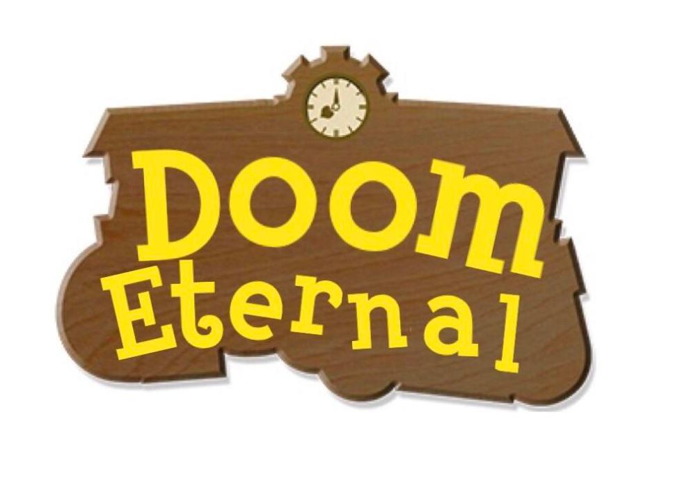 I Found It Funny How Doom Eternal Got Doom Animal Crossing Animal Crossing Game