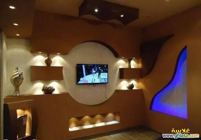 صور ديكور جبس شاشات Lcd صور ديكور شاشة تليفزيون بلازما 2017 Do Php Img 41466 Decor Home Decor Cube