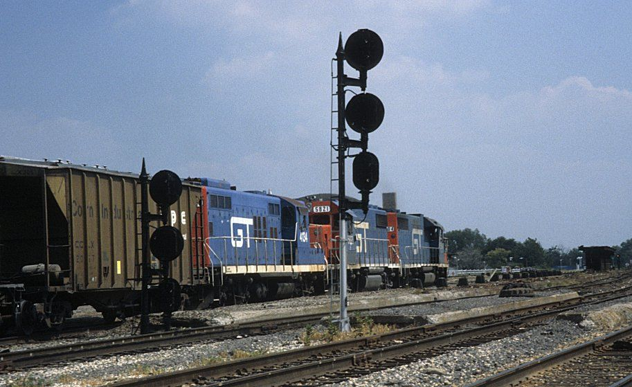 Grand trunk western engines 5804 5821 and 4134 on