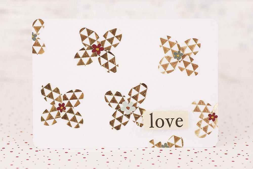 6 Kartenideen I 6 card making ideas I Novemberkit 2014 der SBW I Sandra Dietrich - mojosanti