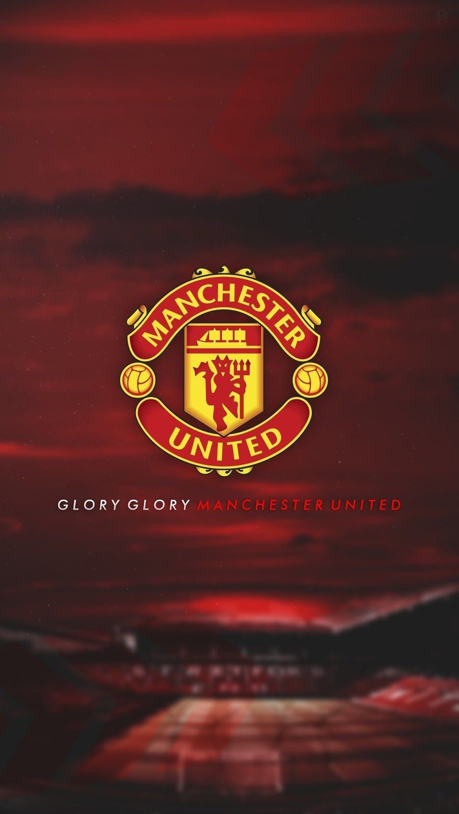 Manchester United Iphone Wallpaper Hd Di 2020 Bola Kaki Sepak Bola Eropa Gambar