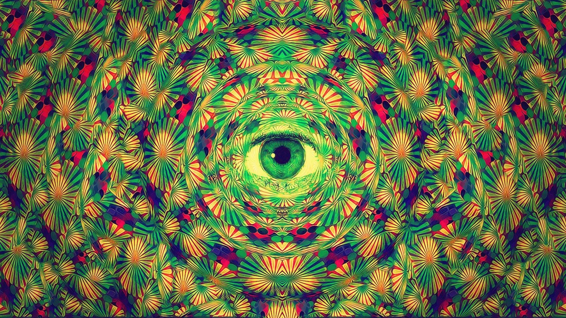 Trippy Psychedelic The Sky