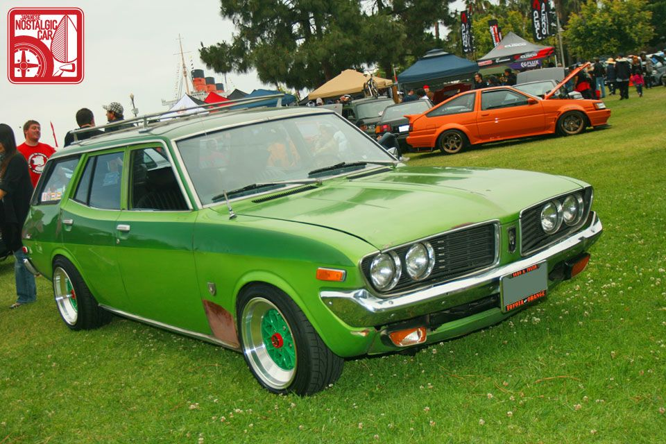 74 TOYOTA CORONA WAGON HAD ONE OF THESE NOT QUITE AS COOL ...