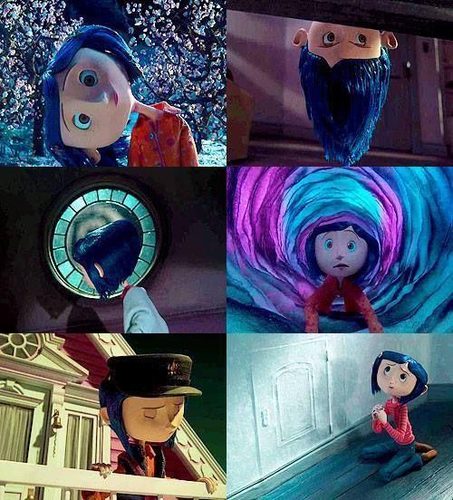 Coraline and the Secret Door Arte de tim burton