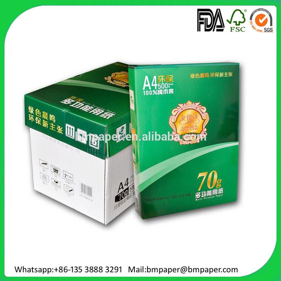 Manufacturer A4 Copy Paper 80gsm 75gsm 70gsm Copy Paper Paper Color