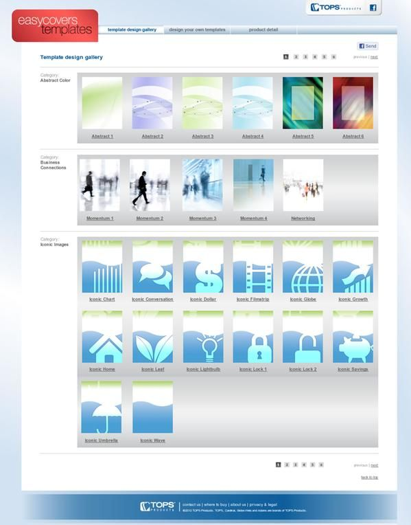 EasyCoversAndMore has hundreds of free binder templates that
