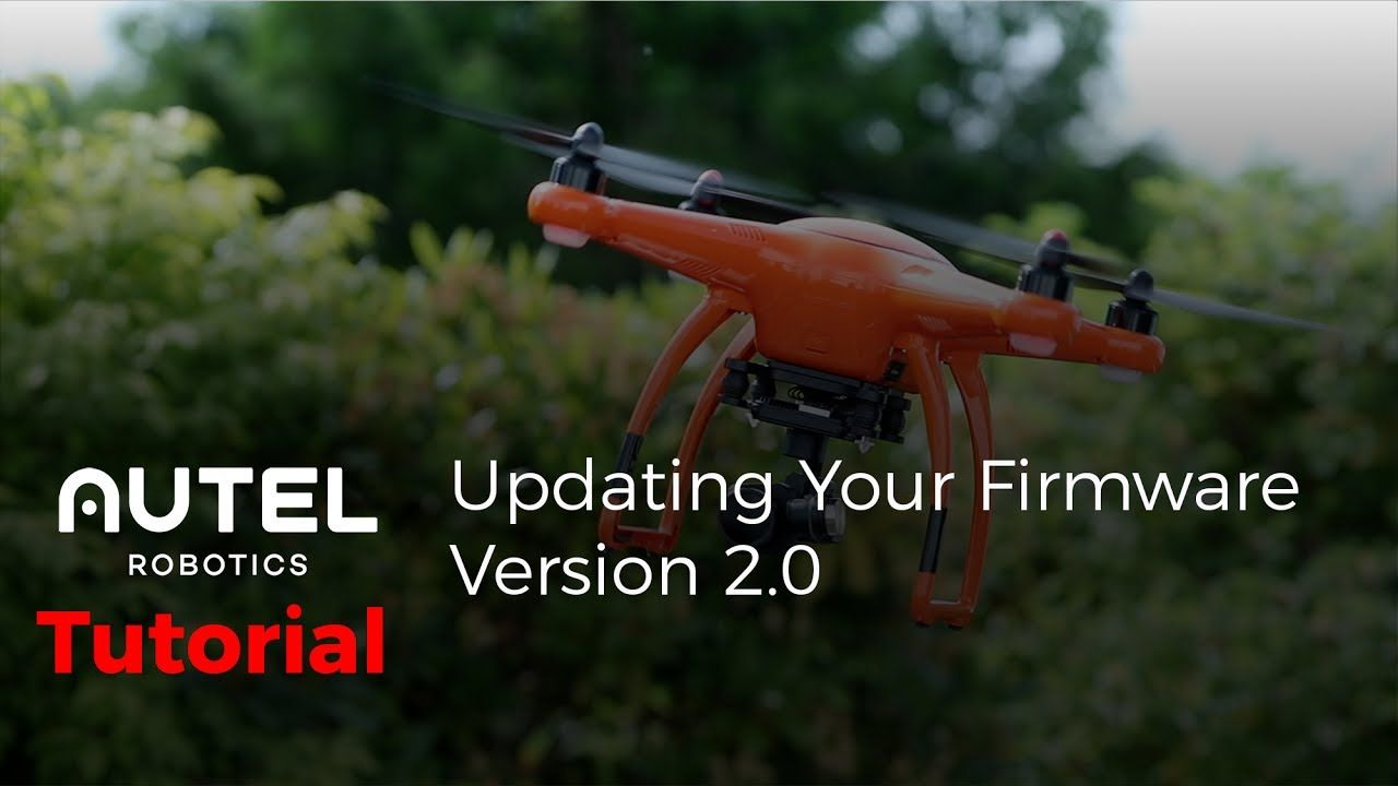 Autel Robotics Tutorial: Updating your X-Star series drone to Version 2.0