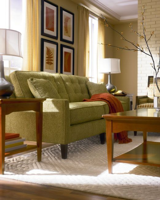 Cinnamon Hill Living Room Featuring Highlife Biscuit Back Sofa By Thomasville Home Furnishing Stores Furniture Living Dining Room #thomasville #furniture #living #room